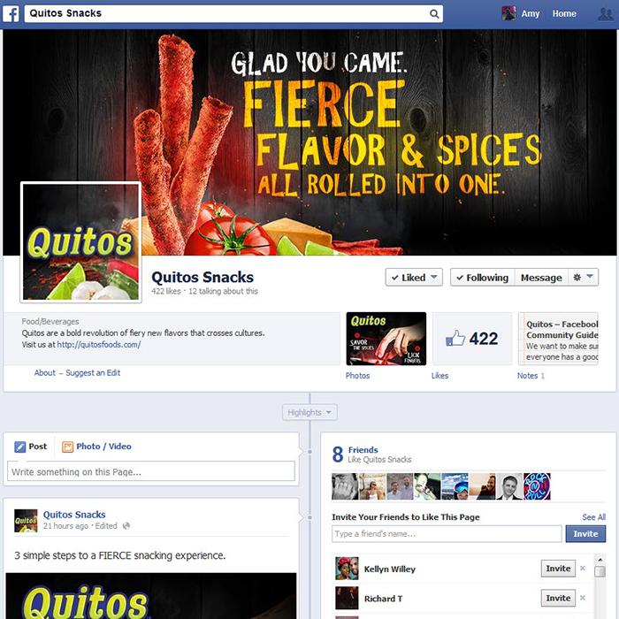 Amy Coats | Quitos Ad Campaign